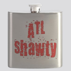 atl shawty - red1 Flask