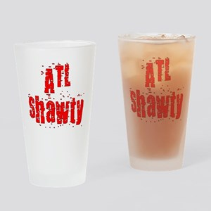 atl shawty - red1 Drinking Glass