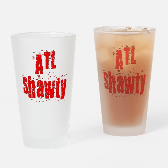 atl shawty - red1.png Drinking Glass