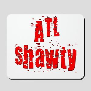 atl shawty - red1 Mousepad