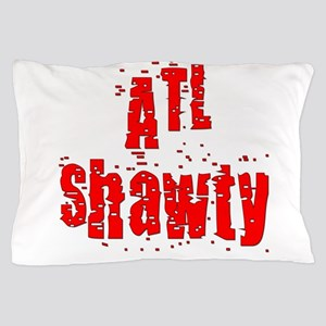 atl shawty - red1 Pillow Case