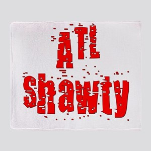 atl shawty - red1 Throw Blanket
