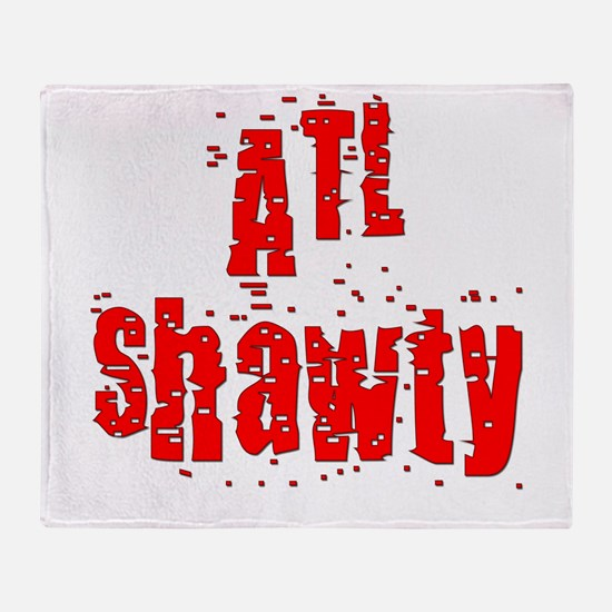 atl shawty - red1.png Throw Blanket