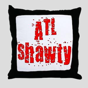 atl shawty - red1 Throw Pillow