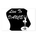 Live To Dance Postcards (Package of 8)