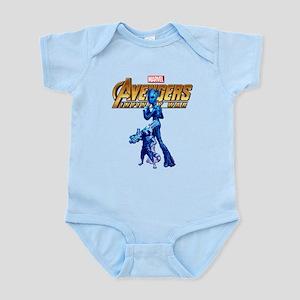 Avengers Infinity War Groot Baby Light Bodysuit