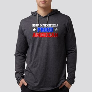 Born In Venezuela Proud American Long Sleeve T-Shi