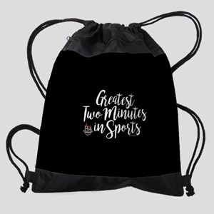 KY Derby 144 Greatest Two Minutes Drawstring Bag