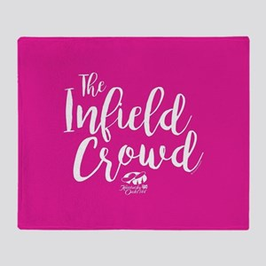 KY Derby 144 Infield Crowd Throw Blanket
