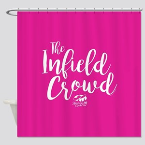 KY Derby 144 Infield Crowd Shower Curtain