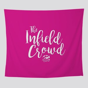 KY Derby 144 Infield Crowd Wall Tapestry