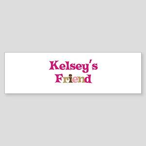 Kelsey's Friend Bumper Sticker
