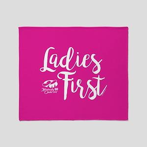 KY Derby 144 Ladies First Throw Blanket