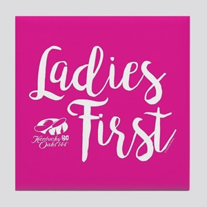 KY Derby 144 Ladies First Tile Coaster