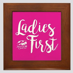 KY Derby 144 Ladies First Framed Tile