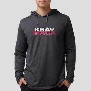 Krag Mava Women Pink Shirt - I Long Sleeve T-Shirt