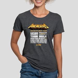 Avengers Infinity War Lin Womens Tri-blend T-Shirt