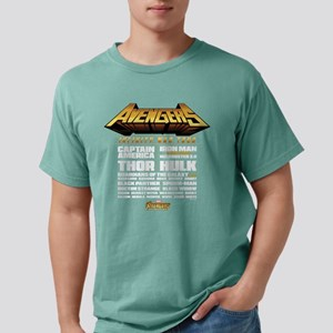 Avengers Infinity War Li Mens Comfort Colors Shirt