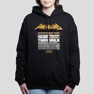 Avengers Infinity War Li Women's Hooded Sweatshirt