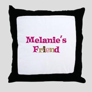 Melanie's Friend Throw Pillow