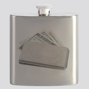 SilverMoneyHolder042810 Flask