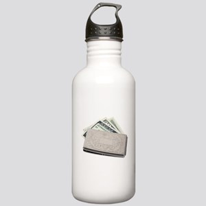 SilverMoneyHolder04281 Stainless Water Bottle 1.0L