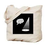 Where's The Spike Mark? Tote Bag