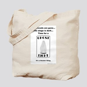 Ghost Light Tote Bag
