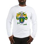 Leiva Family Crest Long Sleeve T-Shirt