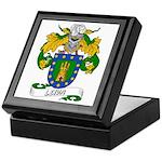 Leiva Family Crest Keepsake Box