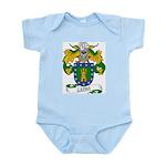 Leiva Family Crest Infant Creeper