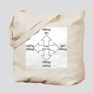 Stage Directions Tote Bag