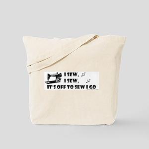 I Sew, I Sew Tote Bag