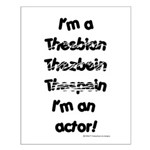 I'm an actor Small Poster