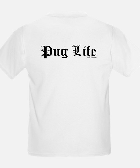 Rainbow Pug Life Kids T-Shirt