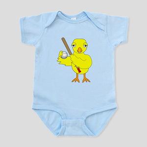 Softball Baseball Chick Body Suit