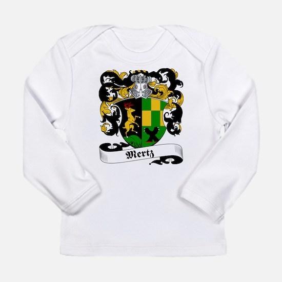 Mertz Family Crest Long Sleeve T-Shirt