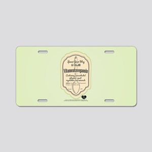 Lucy Spoon Your Way to Heal Aluminum License Plate