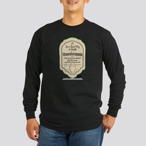 Lucy Spoon Your Way to He Long Sleeve Dark T-Shirt