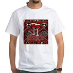 Wine Sign: Merlot White T-Shirt