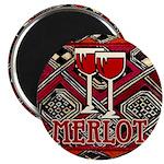 Wine Sign: Merlot Magnet