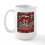 Wine Sign: Merlot Large Mug