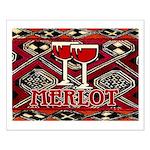 Wine Sign: Merlot Small Poster