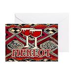 Wine Sign: Merlot Greeting Cards (Pk of 10)