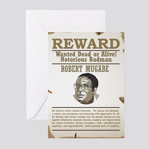 Wanted Mugabe Greeting Cards (Pk of 10)
