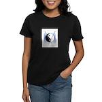 Knit Yin Yang Women's Dark T-Shirt