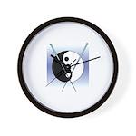 Knit Yin Yang Wall Clock