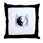 Knit Yin Yang Throw Pillow