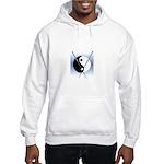 Knit Yin Yang Hooded Sweatshirt
