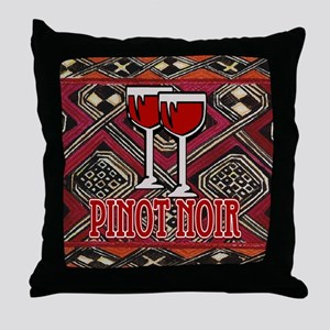 Pinot Noir Sign Throw Pillow